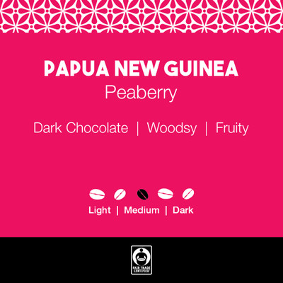 Papua New Guinea Coffee Peaberry
