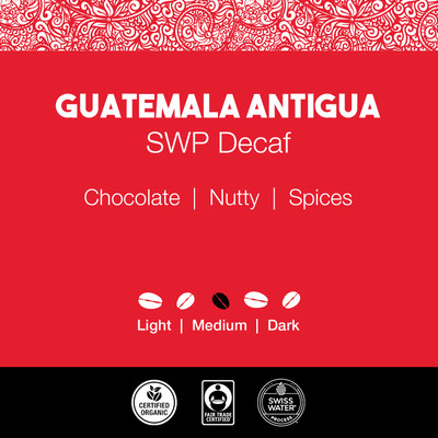 Guatemala Antigua Coffee – SWP Decaf
