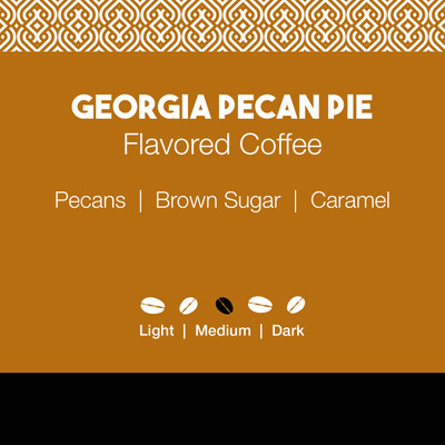 Georgia Pecan Pie Flavored Coffee