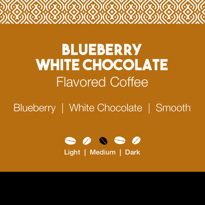Blueberry White Chocolate Flavored Coffee