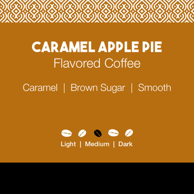 Caramel Apple Pie Flavored Coffee