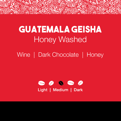 Guatemala Geisha – Honey Washed