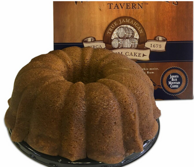 Wicked Jack's  Jamaica Blue Mountain Coffee/Rum Cake - serves 2
