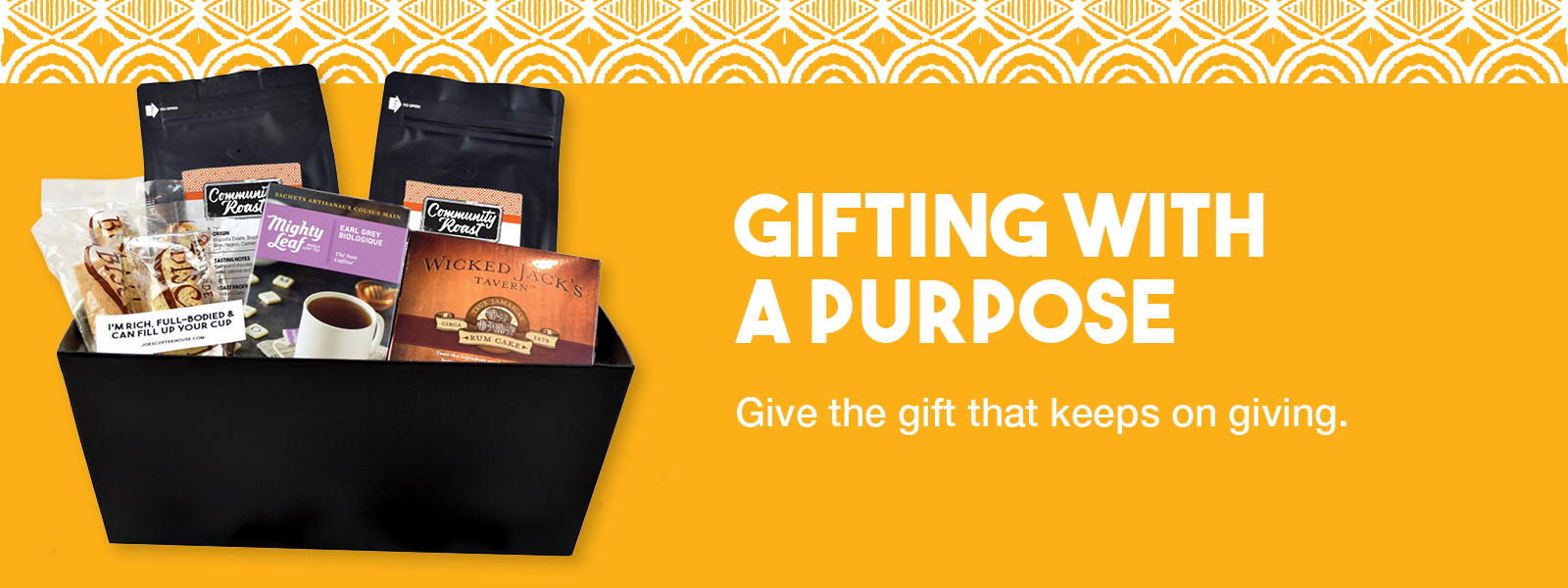 Give the gift that keeps on giving.
