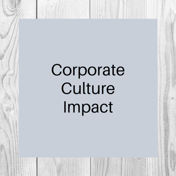 Corporate Culture Impact
