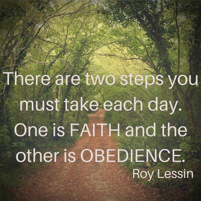 Faith & Obedience