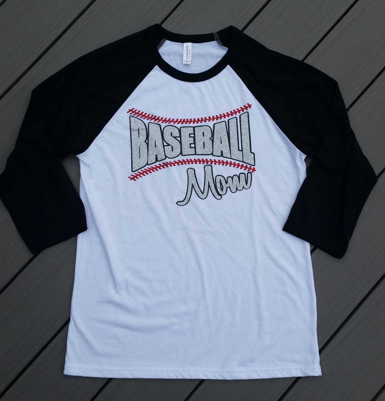 Baseball Softball Mom Shirt Baseball Mom 34 Length Sleeves