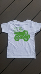 Dump Truck Birthday Shirt - Construction Birthday Party Shirt - Personalized