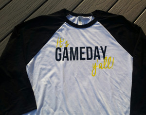 It's Gameday Y'all - 3/4 Length Sleeves - Unisex Henley