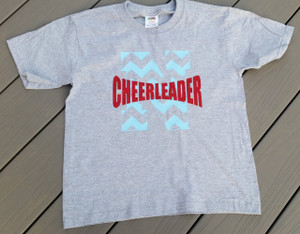North Stanly Cheerleader - Glitter Font - Comets