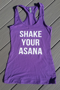 Yoga Tank - Fitted Tank - Shake Your Asana