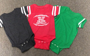 Football Onesie - Football Shirt, Baby Clothing, Football baby