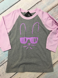 HIP HOP - Easter Shirt - YOUTH - Funny Easter Shirt - Easter Bunny Shirt - Easter Youth