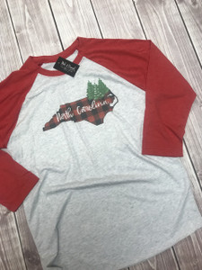 Christmas in the Carolinas Shirt - North Carolina Christmas