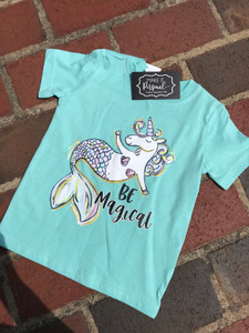 Be Magical Mermaid Unicorn Tee
