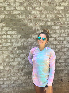 Tie Dye Lake Bum Sweatshirt