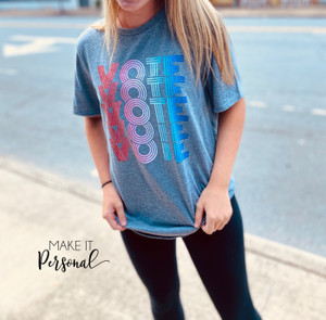 VOTE Graphic Tee - Election T-shirt - Vote Tee