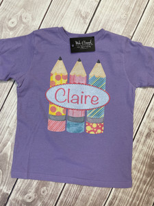 Personalized Pencil Tee