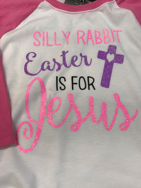 5668e161 ... Silly Rabbit - Easter Shirt - ADULT - Jesus is the reason for the season  ...