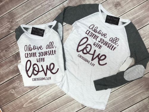 Clothe Yourself With Love - Love Shirt - Elbow Patch Shirt