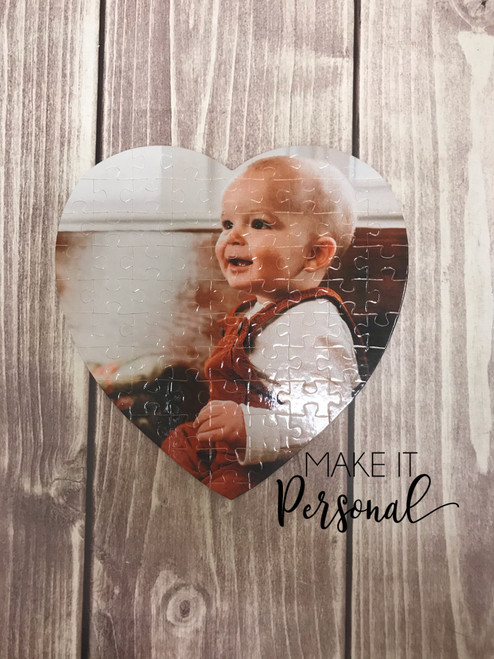 Heart shaped Picture Puzzle, Valentine Gift, Picture Puzzle