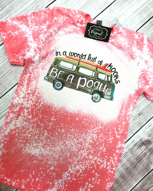 PREORDER - Bleached Pogue Life Tee