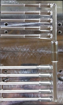 "TT05 - 2.75"" Tiny tube, 5 cavity mold."
