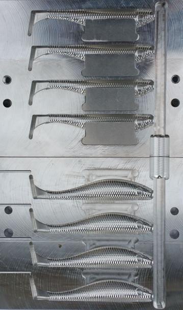 "201B-4 4"" DR Swim Bait Mold"