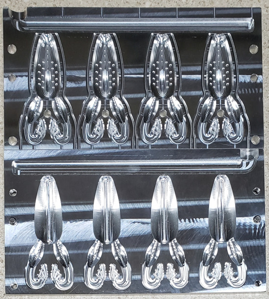 "4"" Atomic Toad Mold (4 Cavity)"