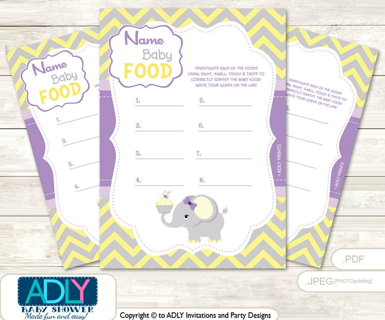 photograph about Baby Food Game Printable referred to as Crimson Elephant Status That Food stuff, Youngster Food stuff bet Activity Printable Card for Boy or girl Elephant Shower Do it yourself Gray Yellow