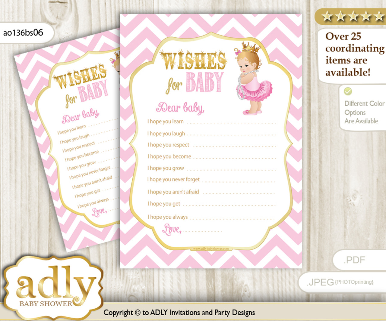 Princess Girl Wishes For A Baby Well Wishes For A Little Girl
