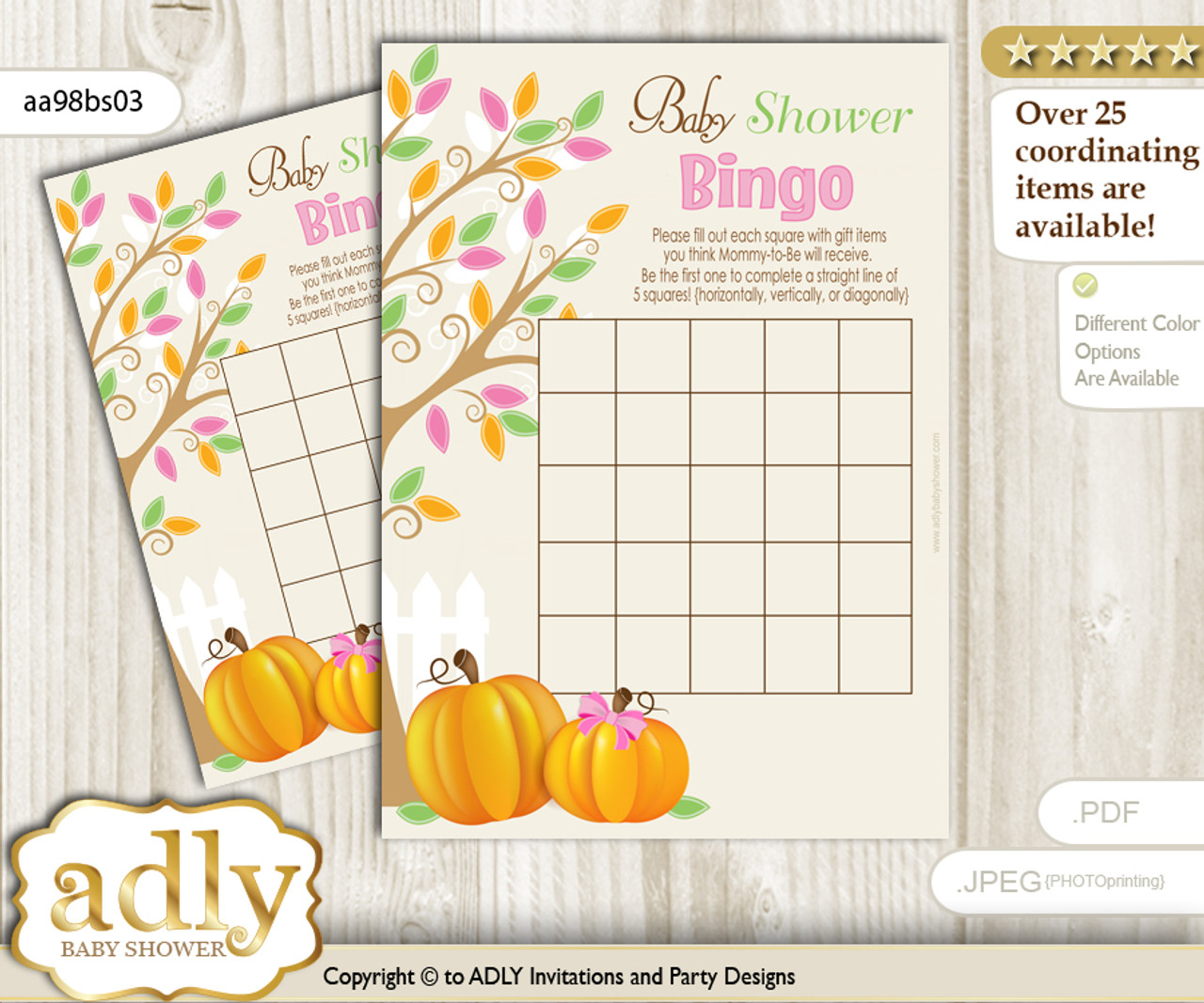 picture about Fall Bingo Printable referred to as Printable Lime Crimson Pumpkin Bingo Sport Printable Card for Little one Woman Shower Do it yourself gray, Lime Red, Tumble