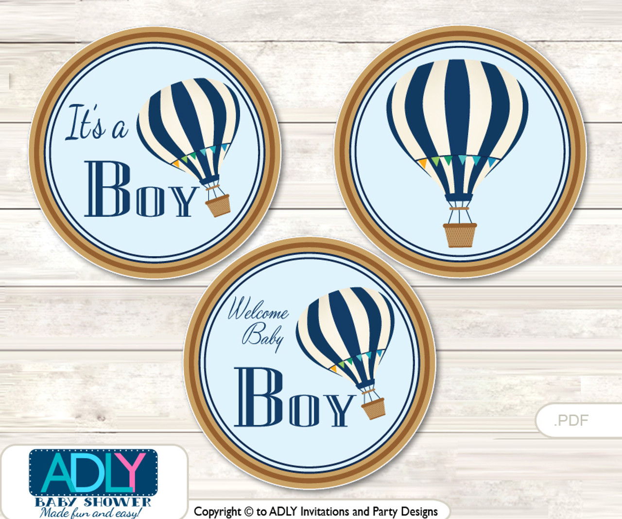 picture about Printable Hot Air Balloon known as Printable Warm Air Balloon Sweet Kisses for Boy or girl Scorching AirShower Do it yourself blue , Up Absent