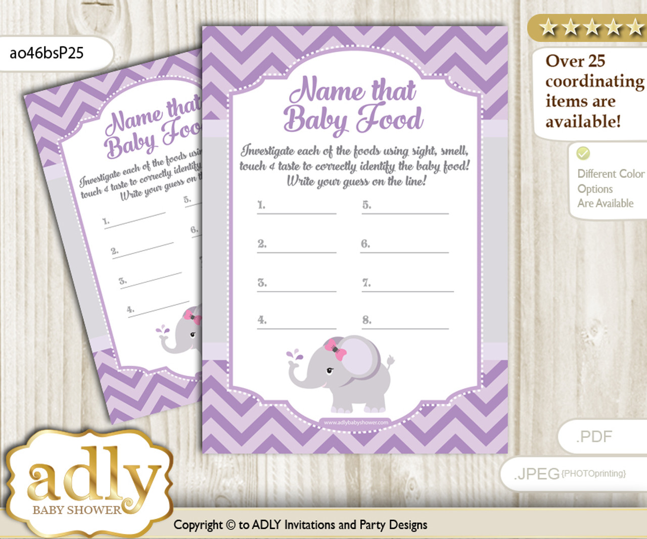 photo relating to Guess the Baby Food Game Printable named Elephant Female Bet Little one Foodstuff Match or Status That Kid Foods Match for a Youngster Shower, Grey Crimson