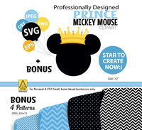 Disney Mickey Mouse Prince Head svg sunglasses,Disney Mickey Mouse sunglasses  file instant download mickey mouse head svg file
