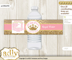 Royal Princess Word Scramble Game For Baby Shower Adly Invitations
