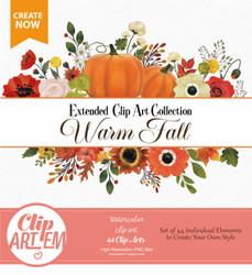 Fall Autumn Halloween Pumpkin bow Clipart,colors clip art,harvest,halloween baby shower-63ca