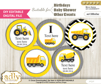 All Printables - Truck, Cars, Tractors - Page 3 - ADLY Invitations