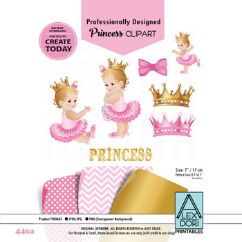 African American Princess Clipart Pink Gold And Purple