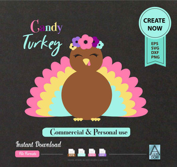 Turkey SVG, Thanksgiving Clip art, Turkey Clipart, Turkey Feathers, Silhouette Cut Files, Cricut Cut Files, commercial use,vector, png