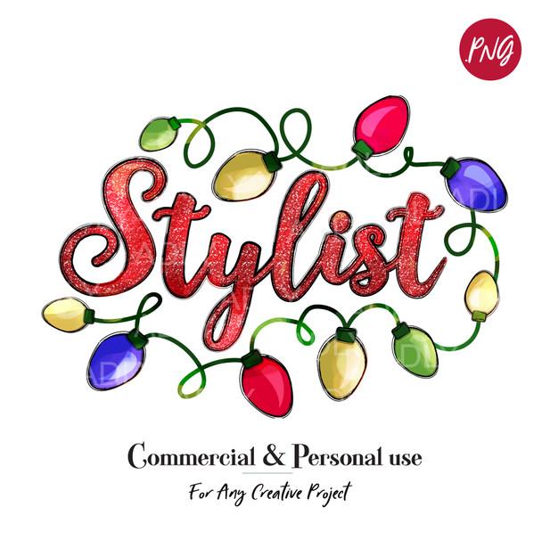 Stylist Sublimation Christmas Lights, fun doodle clip art, digital transfer, Christmas Printable Artwork, happy holidays,merry bright