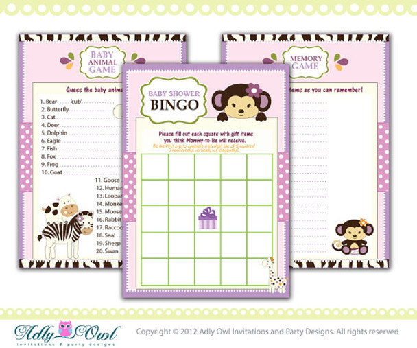 picture regarding Animal Bingo Printable known as Cocalo Jacana Bingo Match, Memory Recreation, Animal Video game Printable Card for Child Lady Jungle Shower Do-it-yourself - Just electronic record - on your own print