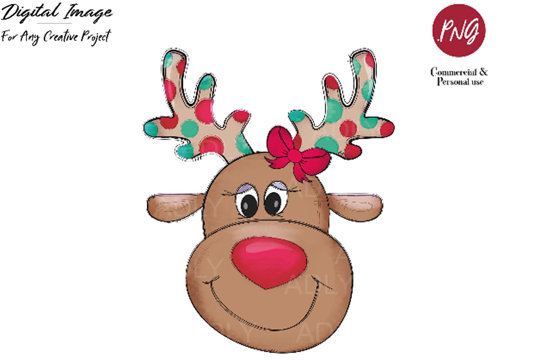 Digital file PNG Image* Print Christmas Polar Bear Sublimation* Ready to Print *Printable art Digital Download