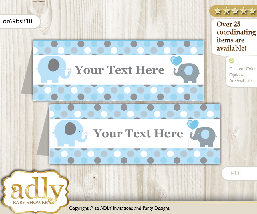 text editable printable boy peanut buffet tags or food tent labels
