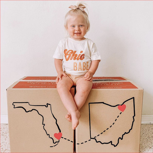 State or City Custom Babe Tee (Infant-Adult Sizing)