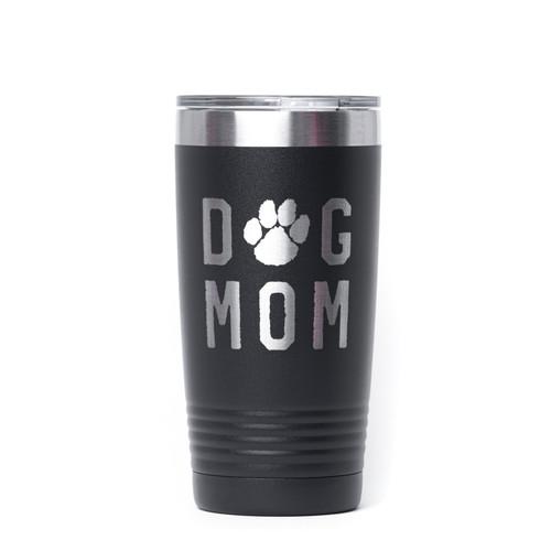 Dog Mom (Rough) - Engraved Tumbler