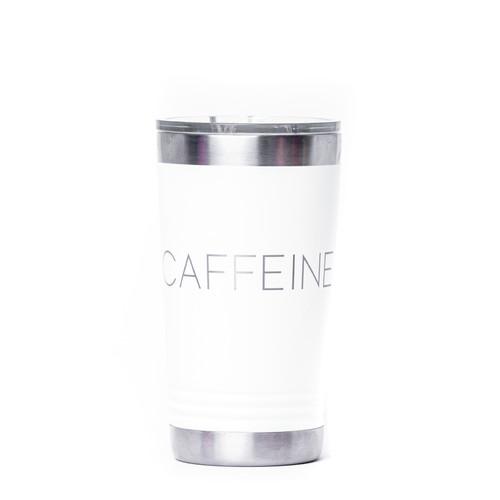 #CAFFEINE Engraved Tumbler