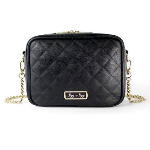 Black Double Take™ Crossbody Diaper Bag