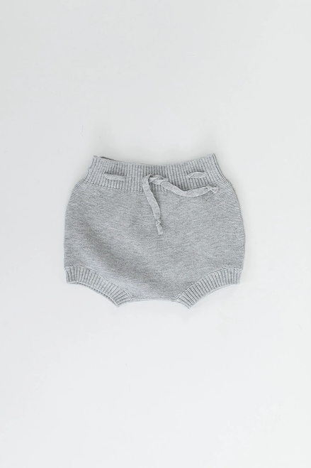 Knit Bloomers Light Grey