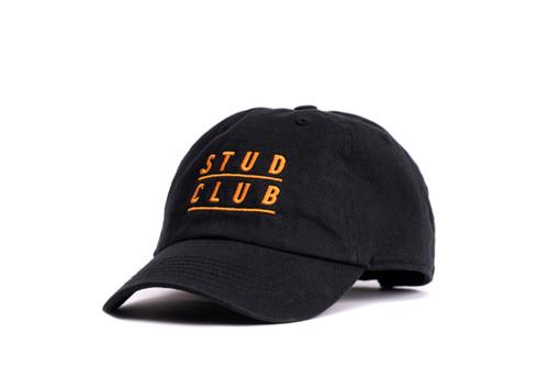 Stud Club - Kids Baseball Hat - Orange/Black